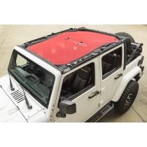 Eclipse Sun Shade Red 07-15 Jeep Wrangler Unlimited JK, 4-Door