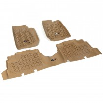 Floor Liner Kit, Tan, 2014 Jeep 4-Door Wrangler