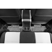 Floor Liners Rear Gray 07-17 Jeep Wrangler (JK)