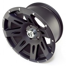 Aluminum Wheel Black Satin 17 Inch X 9 Inches 5 X 5-Inch Bolt Pattern