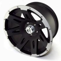 Aluminum Wheel Black 17 Inch X 9 Inches 5 X 5-Inch Bolt Pattern