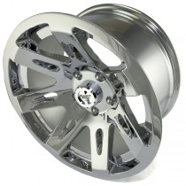Aluminum Wheel Chrome 17 Inch X 9 Inches 5 X 5-Inch Bolt Pattern
