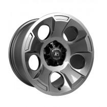 Drakon Wheel 17X9 Gun Metal w/ center cap 07-17 Jeep Wrangler