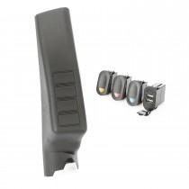 A-Pillar Pod Kit, 3 Switch, USB; 11-16 JK/JKU