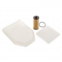 Oil Air & Cabin Filter Kit 3.6L 12-13 Jeep JK
