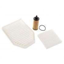 Oil Air & Cabin Filter Kit 3.6L 14-17 Jeep JK