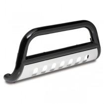 3-Inch Black Bull Bar 07-09 Jeep JK Wrangler