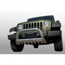 3-Inch Stainless Steel Bull Bar 07-09 Jeep JK Wrangler