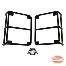 Euro Tail Lamp Guards (Black)