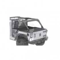 Duster Deck Cover Black Diamond 07-13 Jeep JK Wrangler Unlimited