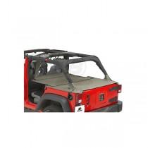 Duster Extension Cover Khaki Diamond 07-13 Jeep 4-Door Wrangler