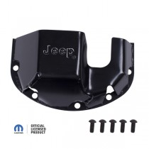 Differential Skid Plate Jeep Logo D30
