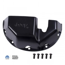 Differential Skid Plate Jeep Logo D35
