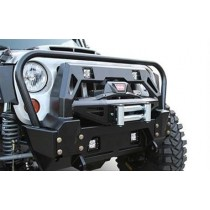 2007 - 2014 Jeep JK FMJ Stubby Winch Bumper with grill guard