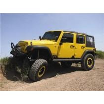 2007 - 2012 Jeep JK Unlimited Rock Sliders Bare