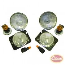 Clear Lamp Kit (Wrangler JK)