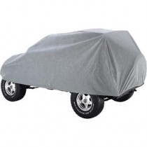 Car Cover 4 Layer Grey 2Dr Wrangler 07 to 14 (includes Lock Cable & Storage Bag)