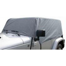 Cab Cover 4 Layer Gray 2Dr JK Wrangler 07 to 14 (Fits over Installed Top)