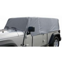 Cab Cover 4 Layer Gray 4Dr JK Wrangler 07 to 14 (Fits over Installed Top)