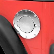 Billet Style Gas Cover 07 to 14 Wrangler JK 2dr & 4 dr