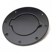 Billet Style Gas Cover Black Off Road Coat 07 to 14 Wrangler JK 2 dr & 4 dr