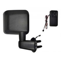 Exterior Power Mirror Kit (Self contained Power supply) 07 to 14 Wrangler (JK) 2Dr & Unlim