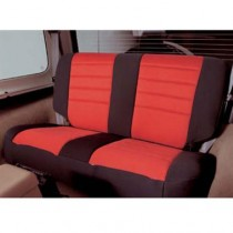 Jeep Wrangler 2 Door Neo Seat COVERs RR Black/Red
