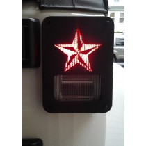 NAUTICAL STAR JEEP WRANGLER JK TAIL LIGHT GUARDS