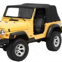 Emergency Jeep Soft Top 2-door models